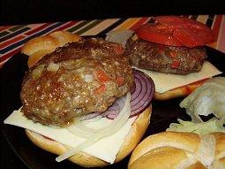Hamburger úžasné chuti