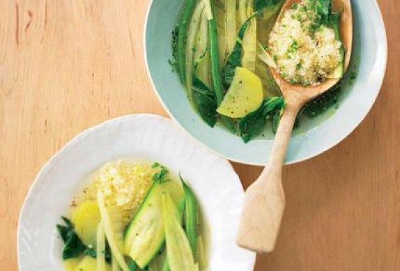 Zeleninová polévka IV