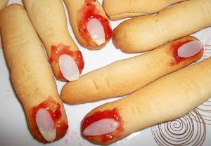 Haloweenské prsty