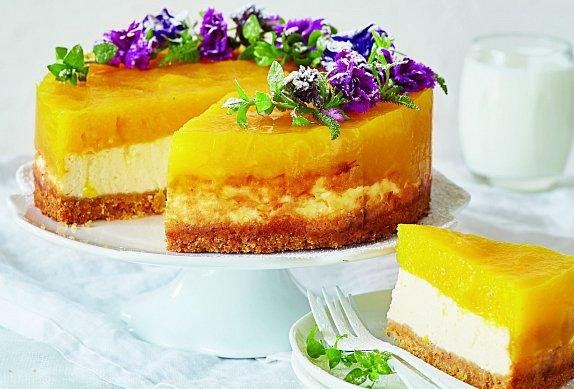 Mangový cheesecake photo-0