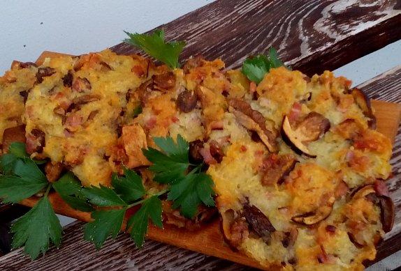 """""""Houboráky"""" - houbové bramboráky"""
