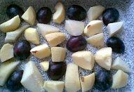 Zapečené kokosové ovoce