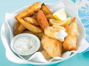 Ryba v pivním těstíčku podle Viléma Vrabce