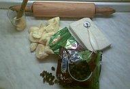 Jablečný závin s piškotem