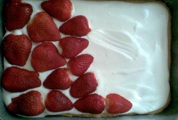 Ovocný koláč se želatinou II.