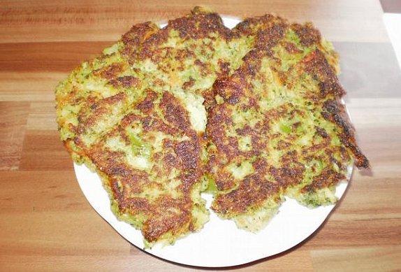 Brokolicovo-bramborové placičky