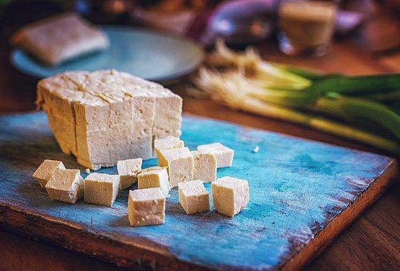Uleželé tofu à la Romadur