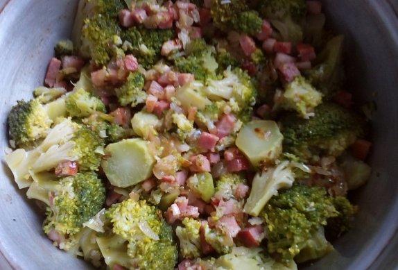 Brokolice se slaninou (nejen) z remosky