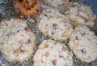 Houbové placičky s rýží