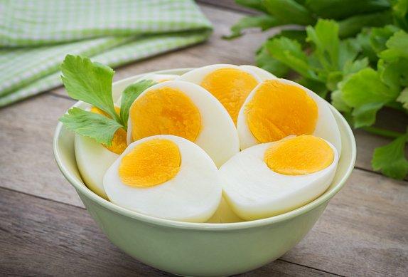 Vajíčková pomazánka (méně tučná)