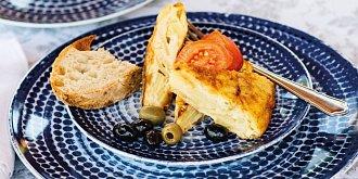Bramborová španělská tortilla