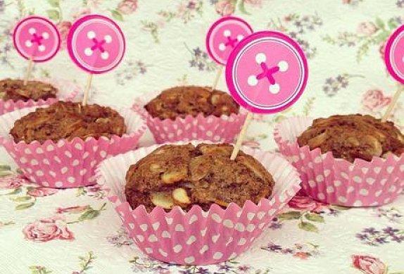 Ořechové fit muffiny