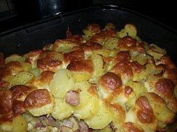 Zapečené brambory 2