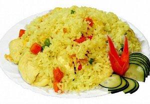 Rýže s kari na smetaně