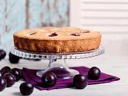 Italský vláčný koláč s blumami