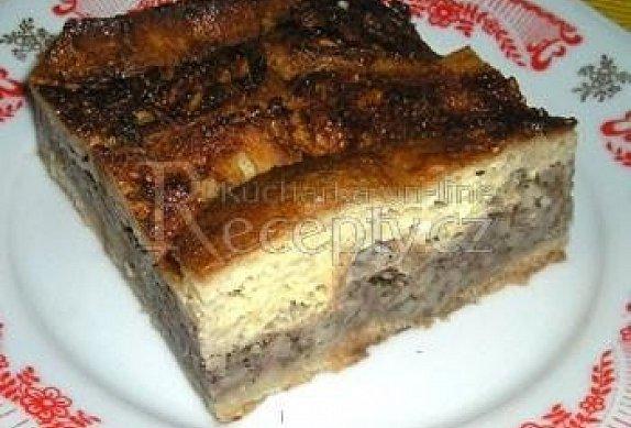 Jitrnice zapečené s chlebem