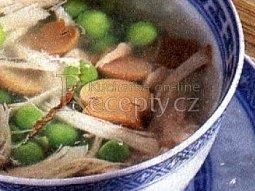 Jemná kuřecí polévka