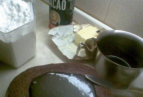 Babiččin perníkový koláč s kokosem