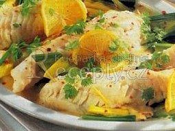 Dušené rybí filé v hořčičné omáčce