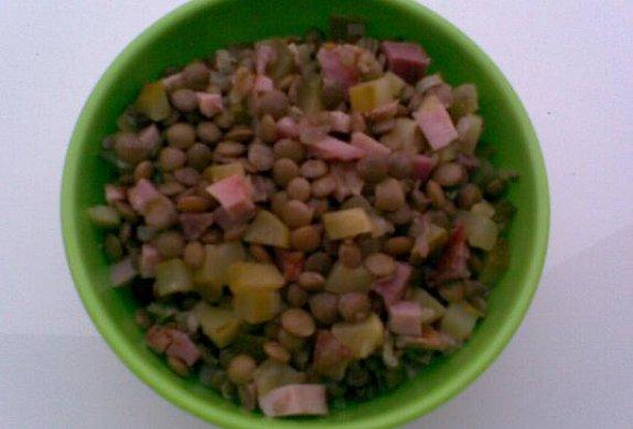 Čočka na kyselo - salát
