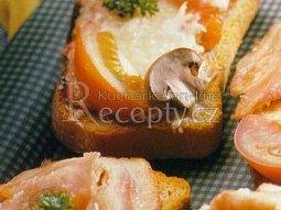 Gratinovaný toast se sýrem