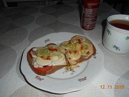 Toasty zapečené v mikrovlnce