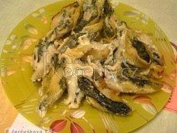 Plněné těstovinové mušle