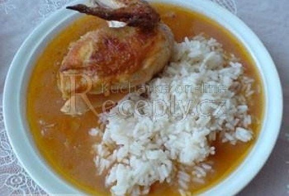 Kuře a la Burgas