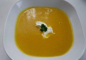 Dýňová polévka.......Danča