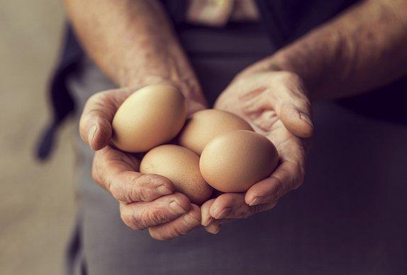 Míchaná vajíčka s avokádem