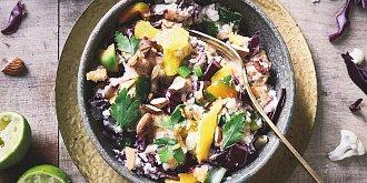 Pikantní květákový salát