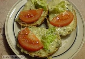 Teplé sýrové toasty