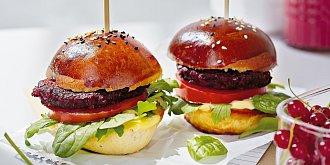 Burgery z červené řepy
