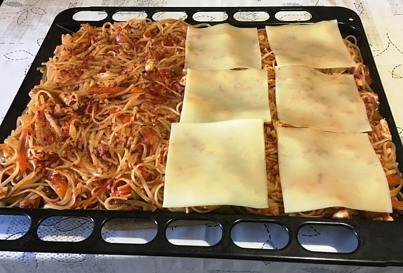 Torta di spaghetti KOPRA