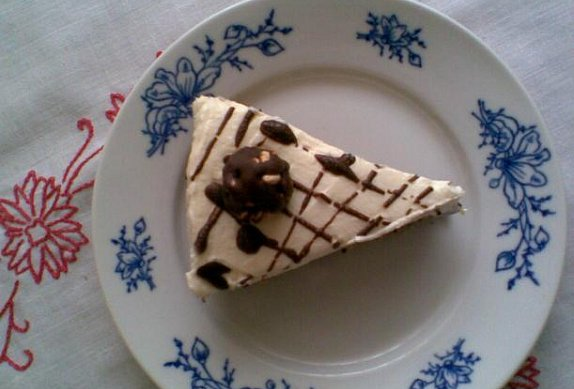 Tvarohový dortík s burisony - nepečený