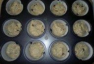 Muffiny s kousky čokolády