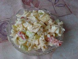 Lehký těstovinový salát