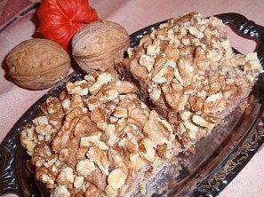 Dýňový koláč s ořechy II.
