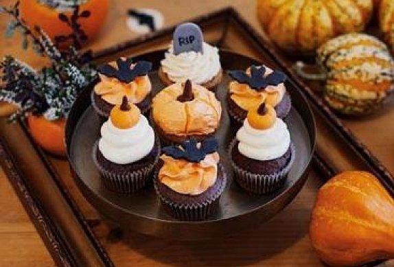Jablkovo - skořicové cupcakes