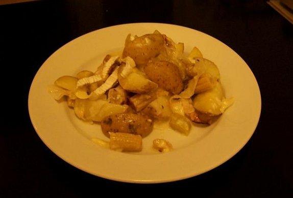Hermelínové brambory s pórkem photo-0