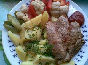 Přírodní vepřové maso