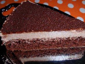 Dort s čokoládovým krémem