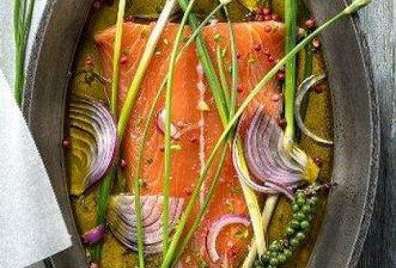 Snadný marinovaný losos