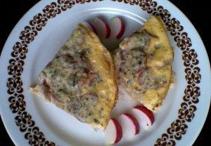 Ředkvičkové suflé s bramborem