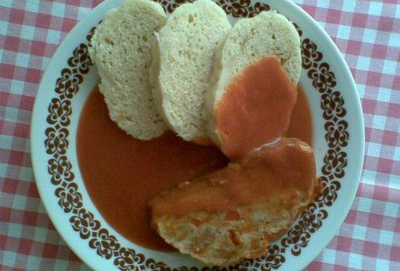 Paprikovo-rajská omáčka s paprikovou sekanou photo-0