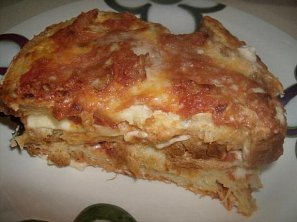 """Chlebové """"lasagne"""""""
