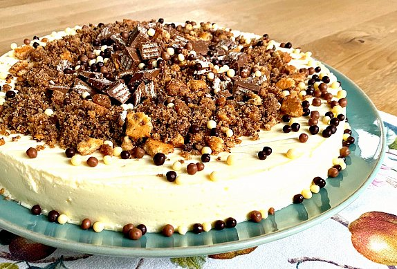 Obrácený cheesecake