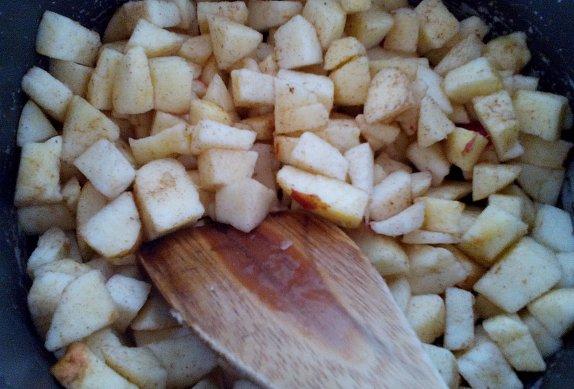 Blbouni (knedlíky) s jablky