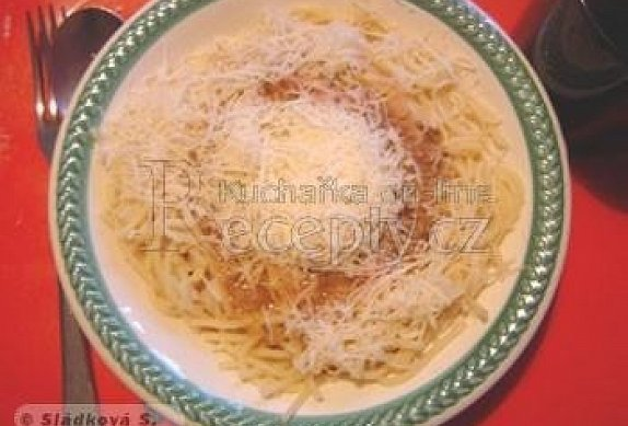 Jednoduchá omáčka na špagety