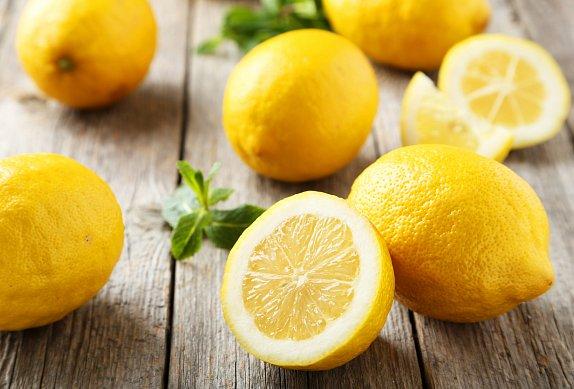 Citronové těstoviny